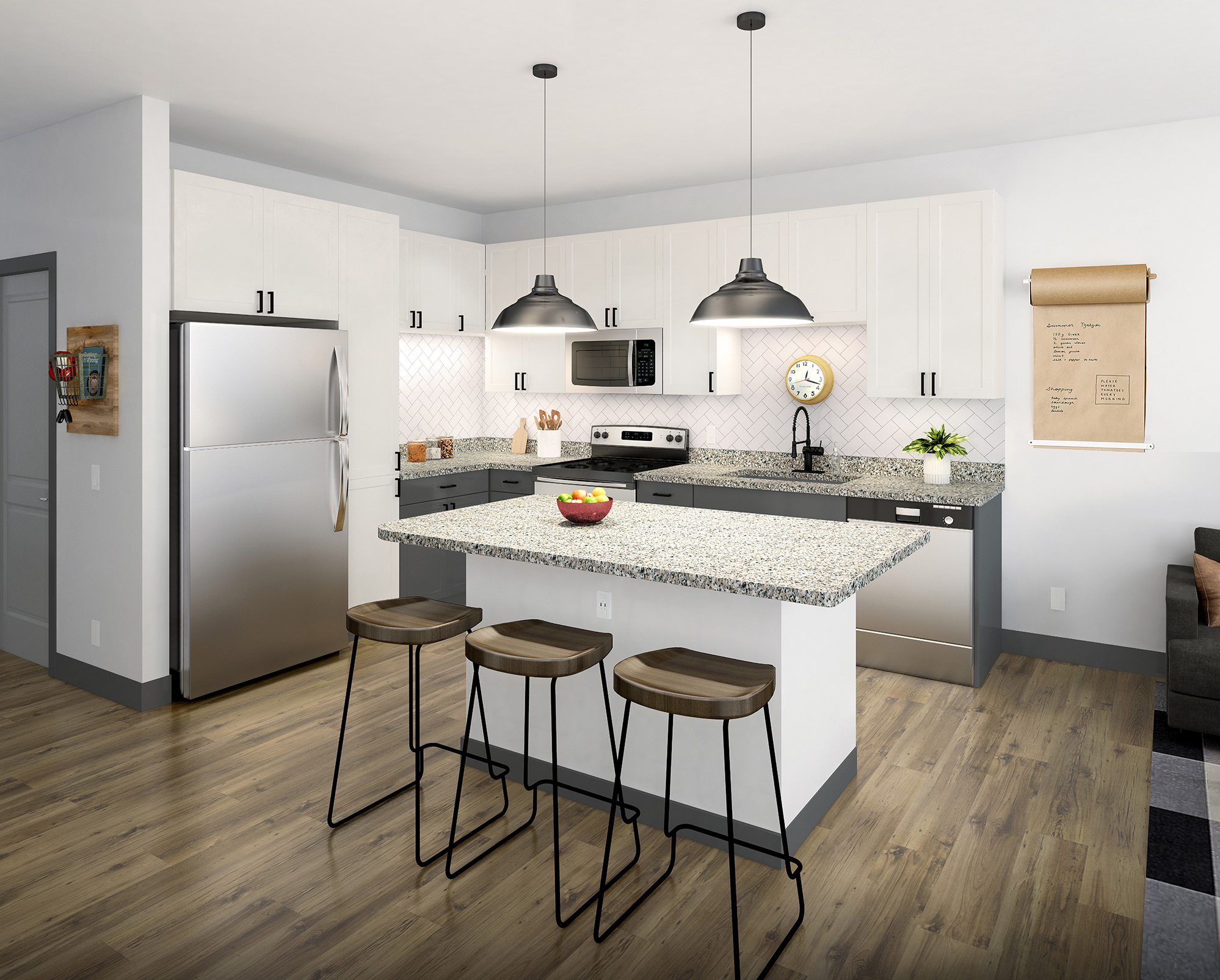 9 columbia kitchen amenities